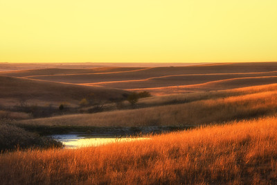 Flint Hills - Sunset Waves