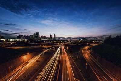 Kansas City - Morning Skyline