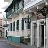 Outside Bajareque Coffee, Casco Viejo barrio, Panama City