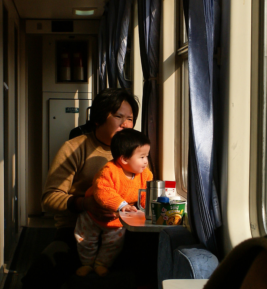 China, train travel