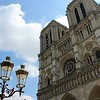 Notre Dame de Paris with Lanterns in the Foreground