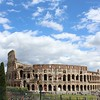 The Colosseum on a Sunny Day, As Seen From the Roman Forum