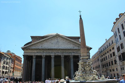 The Pantheon by Day, Rome, Italy