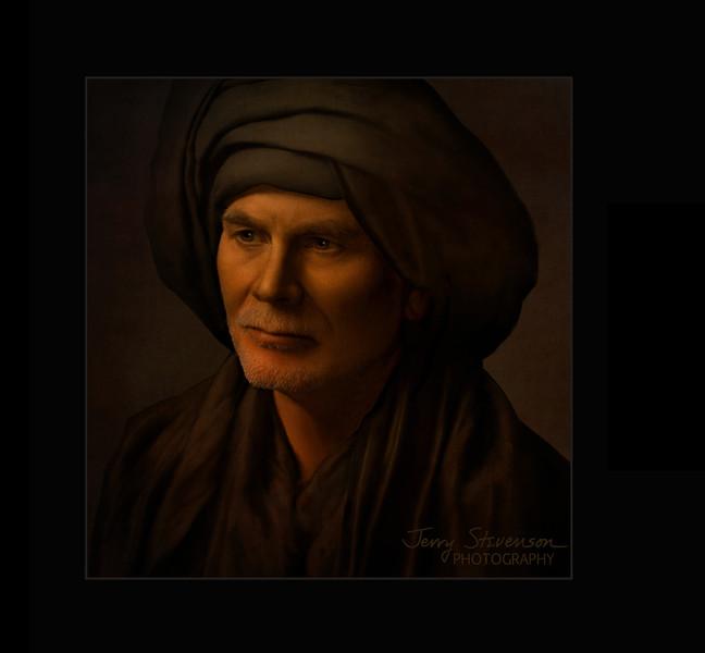 Man In A Black Turban