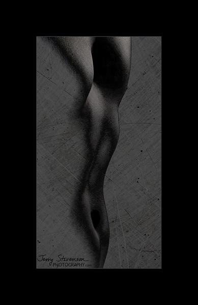 Male Torso In Black