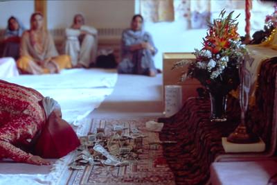 Offering at Guru Nanak Sikh Gurdwara (Plymouth, MI)