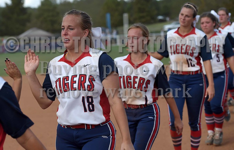 on Saturday, October 21, 2017, in the MHSAA Slow-pitch Softball Championships at Freedom Ridge Park in Ridgeland, Miss.