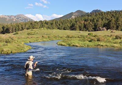 Fishing at RMNP Colorado