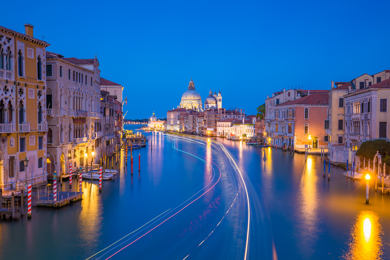 Venice from Accademia Bridge.