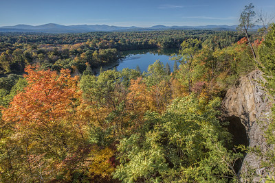 From the Williams Lake Property, Rosendale, New York