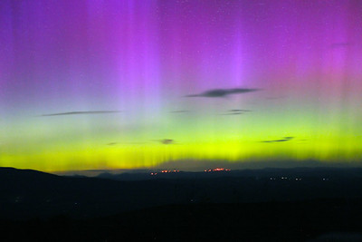 Northern Lights at Quill Hill