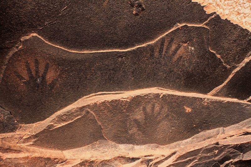 Anasazi handprints
