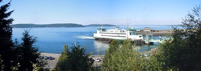ferry in view