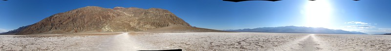 middle of death valley lowest point