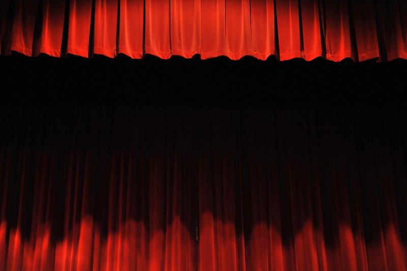Stage curtains, Forest Ridge School, Bellevue