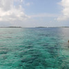Kuda Huraa, Maldives. Heading out for snorkeling on the reef.