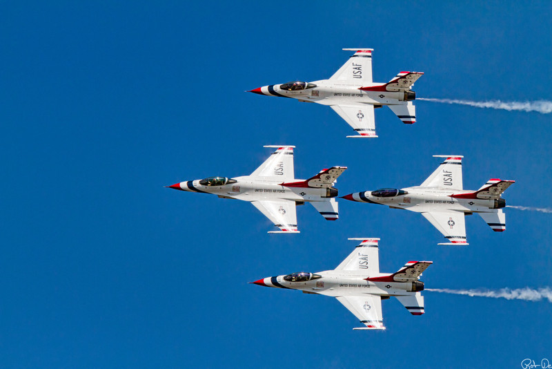US airforce Thunderbirds Diamond