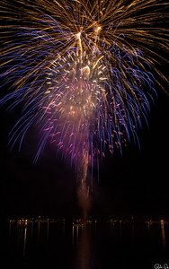 Fireworks over Lake George |