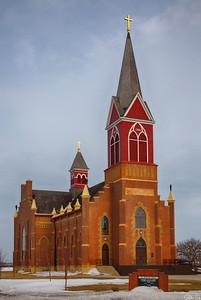 St. Stanislaus Catholic Church   Pulaski, ND