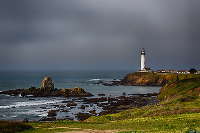 Pigeon Point Lighthouse | Captured as the fog was burning off, this lighthouse along the Pacific Coast is the allest lighthouse on the west coast of the US.