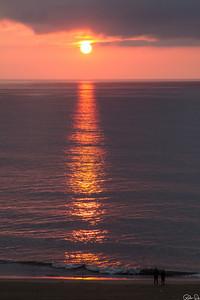 Sunrise at Virginia Beach | I woke up to this sunrise.