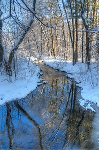 Winter at Ashland State Park