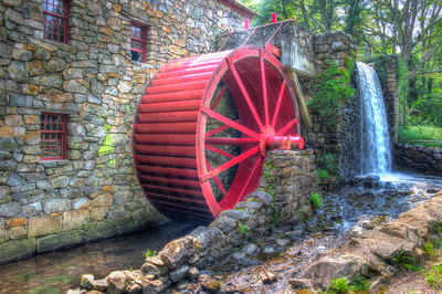 Grist Mill - Sudbury, MA