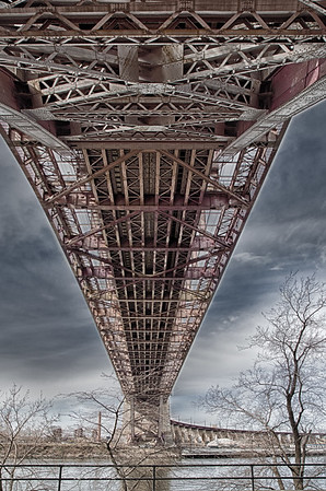 Under the Hells Gate Bridge