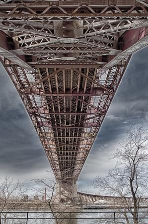 Under the Hells Gate Bridge