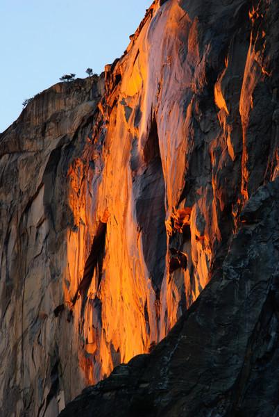 Horsetail Falls, Yosemite, CA
