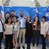 (L-R); Thomas Horvath; Long Nguyen; Maria Bautista; Dalia Garcia; Abdulrahman Ibrahim; Madelaine Britt; Grace O'Connor; Daniela Leon; Matt Straub