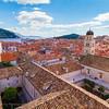 Tile roofs, Dubrovnik