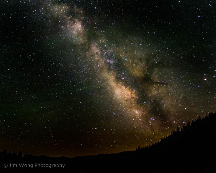 Milky Way II, Mill Creek, CA (7/12/13)
