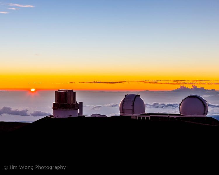 Sunset on Mauna Kea I