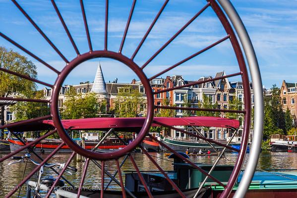 Dock gate, Amsterdam