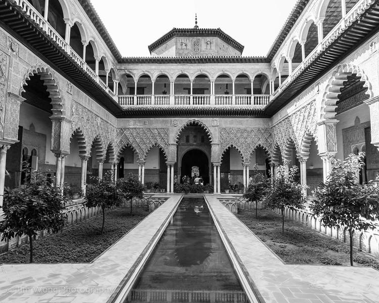 Patio de las Doncellas, Reales Alcázares, Seville