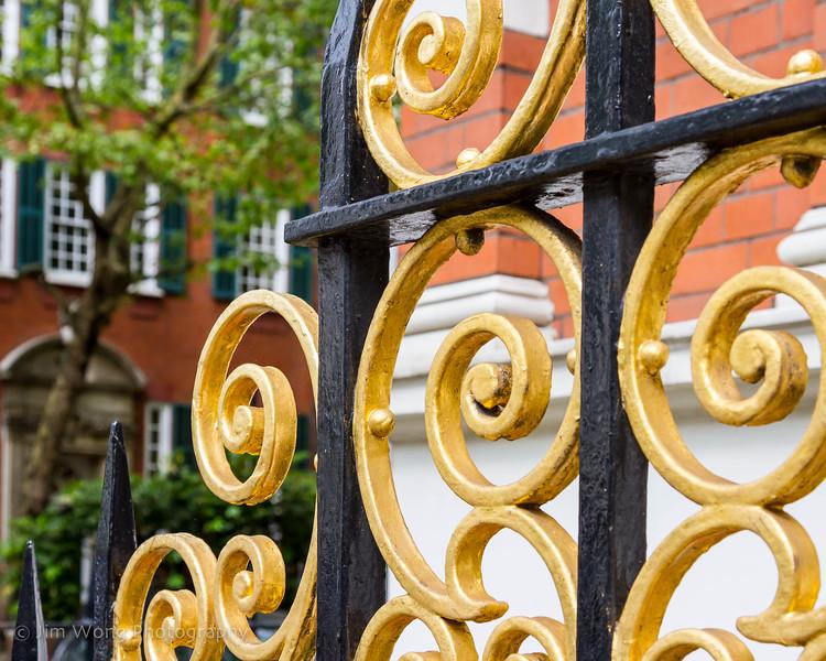 Gate detail II, Kensington
