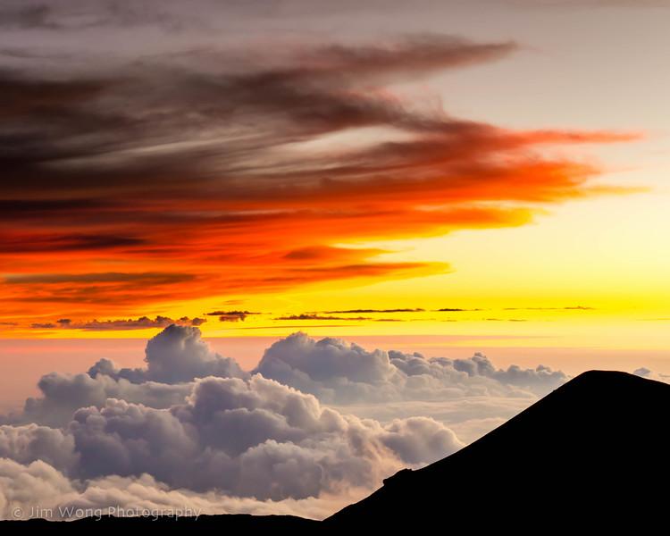 Sunset on Mauna Kea II
