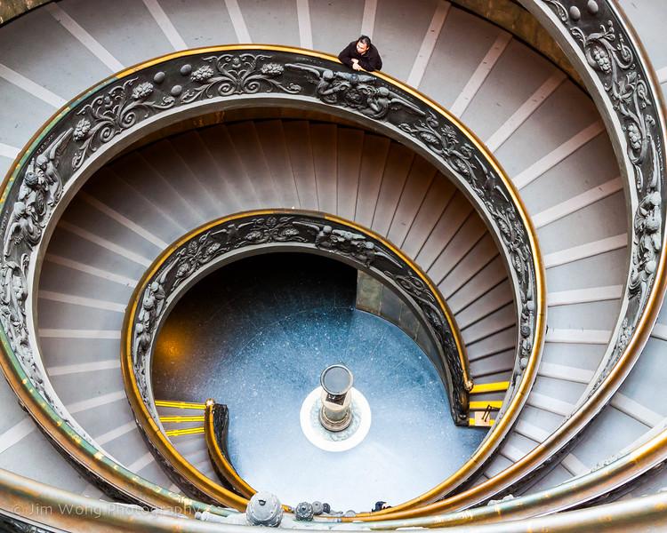 Spiral staircase, Vatican