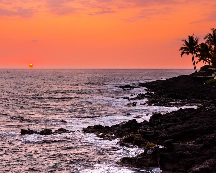 Kona sunset I