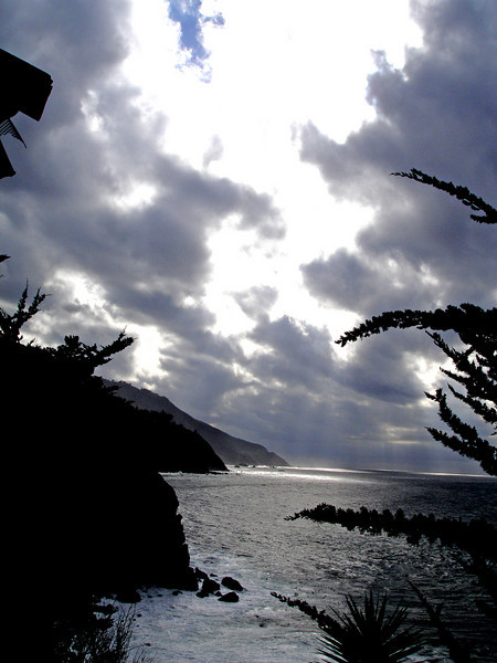 Esalen, between storms