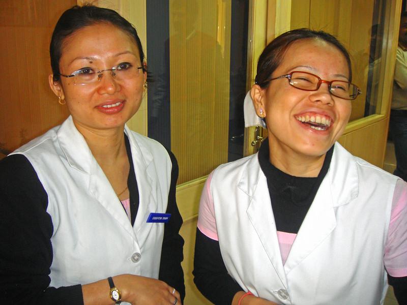 Head nurses in New Delhi find me quite amusing.