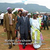 Rabbi Gershom Sizomu with Mother and Brother