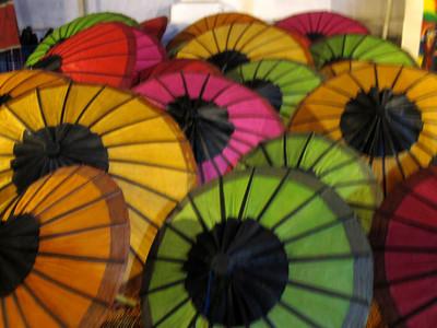 Handmade Laotian Umbrellas
