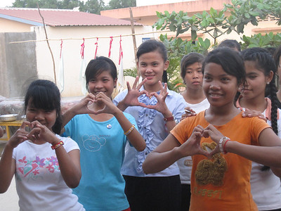 Hearts from the Older GIrls