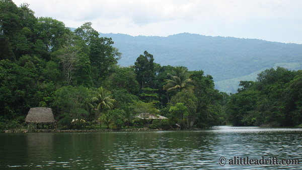 Calm Waters on Guatemala's Rio Dulce