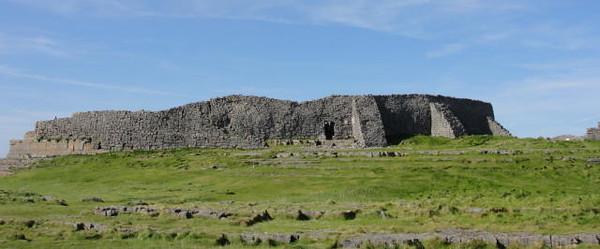 Dun Aengus Fort on the Aran Islands in Ireland