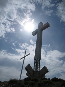 A Huge Cross Guarding the City