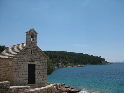 Adriatic from Milna, Croatia