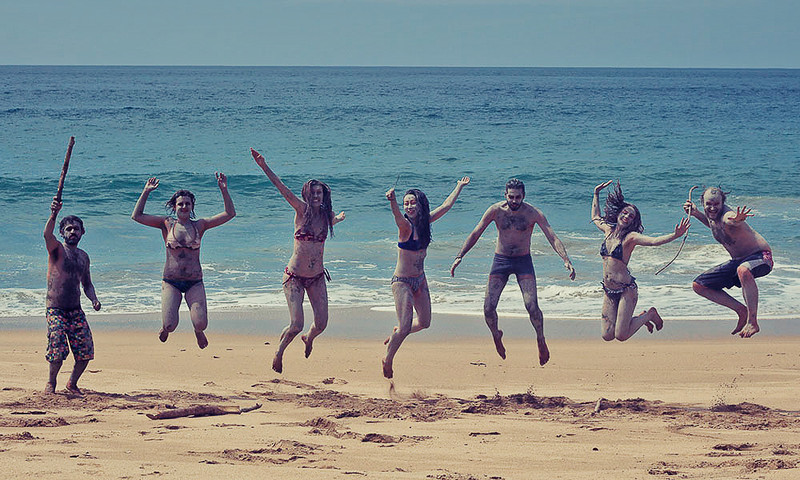 What day is complete without a jumping shot!